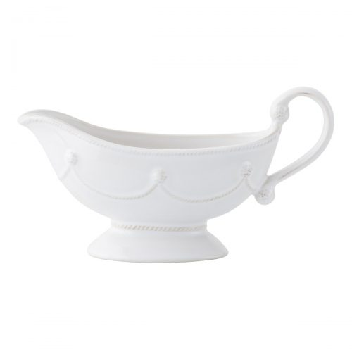 JULISKA Berry & Thread Whitewash Sauce Boat