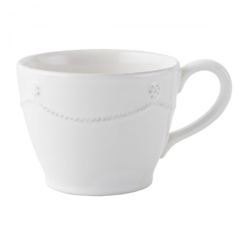 JULISKA Berry & Thread Whitewash Tea/Coffee Cup
