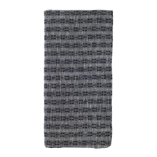 Bodrum Basket Weave Napkin Black