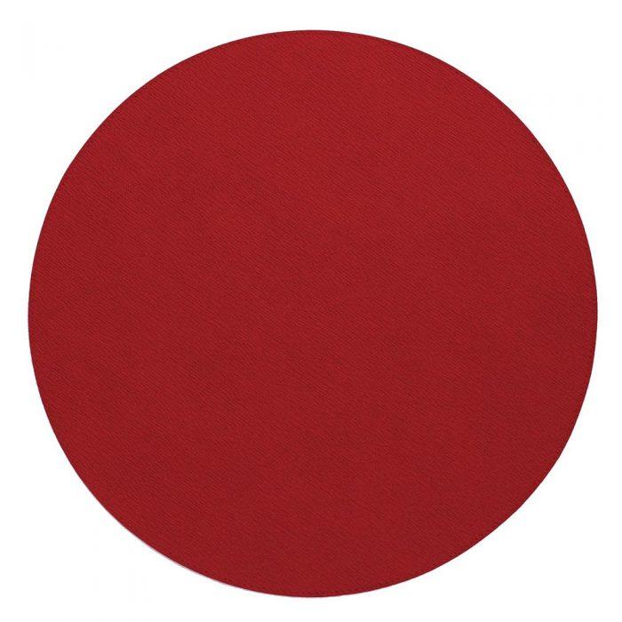 Bodrum Placemat Round Presto Red