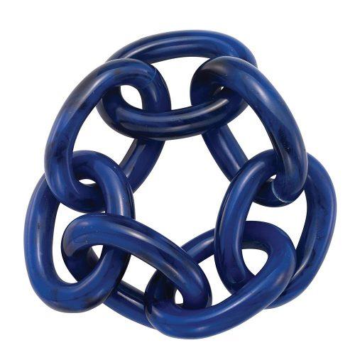 Bodrum Napkin Chain Link Navy