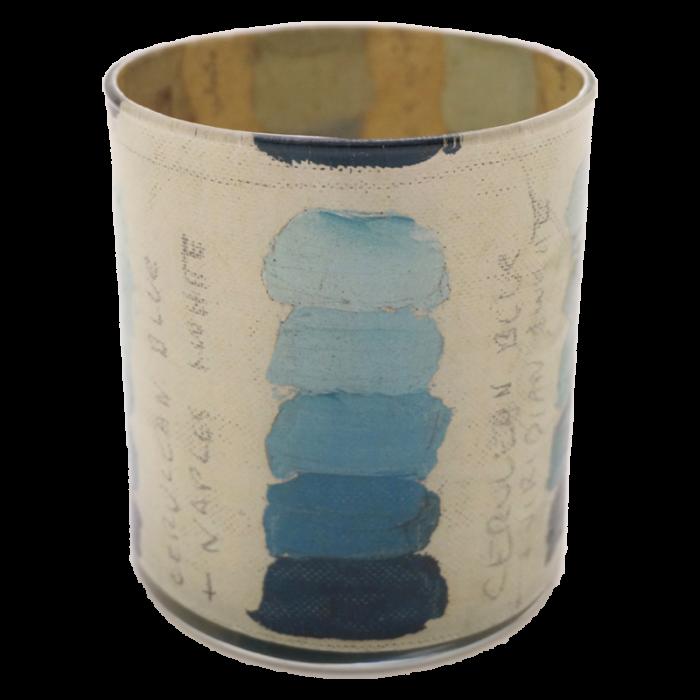 John Derian - Cerulean Blue Tones Desk Cup