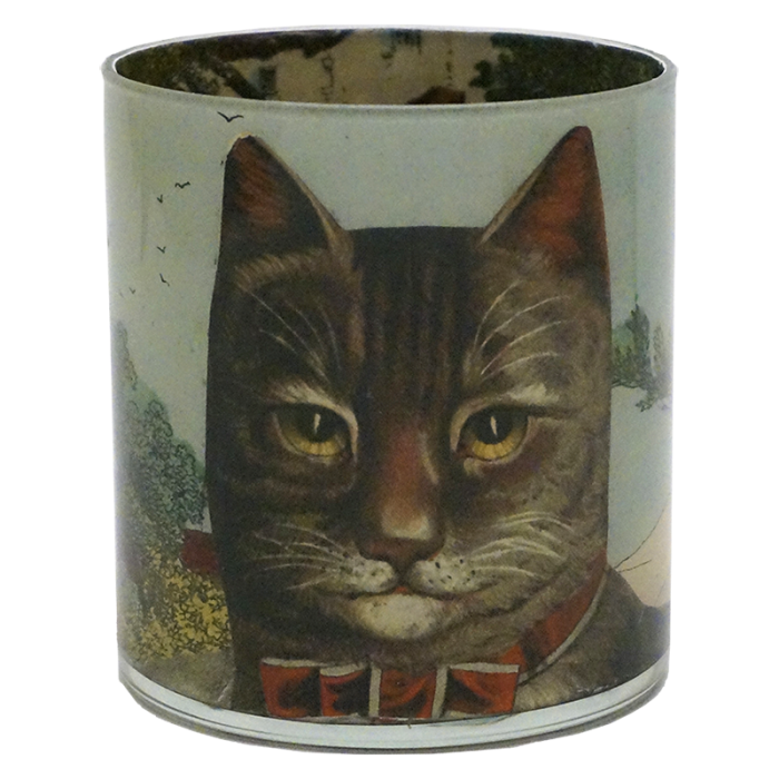 John Derian - Country Cat Desk Cup