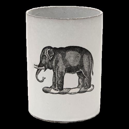 ASTIER DE VILLATTE-John Derian Elephant Vase