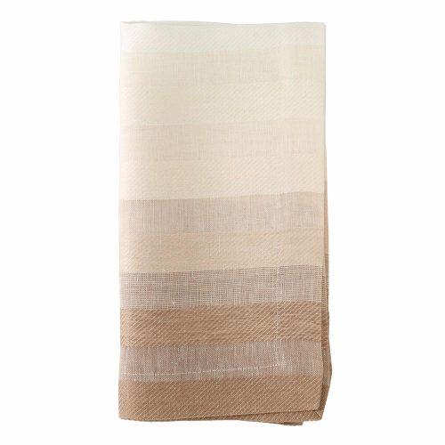 Bodrum Gradient Stripe Napkin Beige