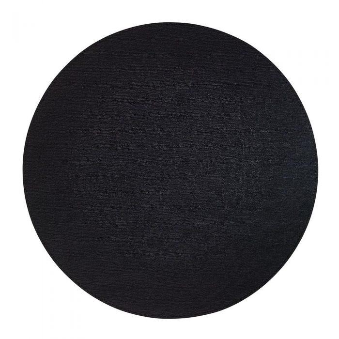 Bodrum Placemat Round Presto Black