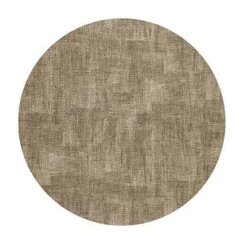 Bodrum Placemat Round Luster Sand