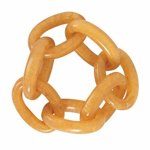 Bodrum Napkin Chain Link Gold