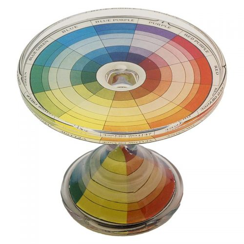 John Derian Stacking Cake Pedestal Color Dictionary (Petit)
