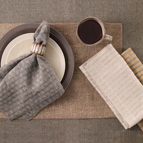 Bodrum Basket Weave Napkin Topaz