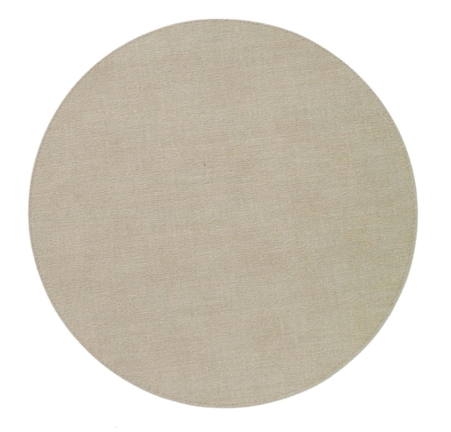 Bodrum Placemat Round Presto Oatmeal