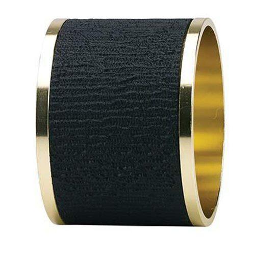Bodrum Napkin Rings Presto Black