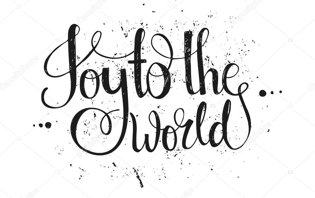 JOY TO THE WORLD TEXT