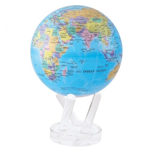 POLITICAL MAP BLUE MOVA GLOBE
