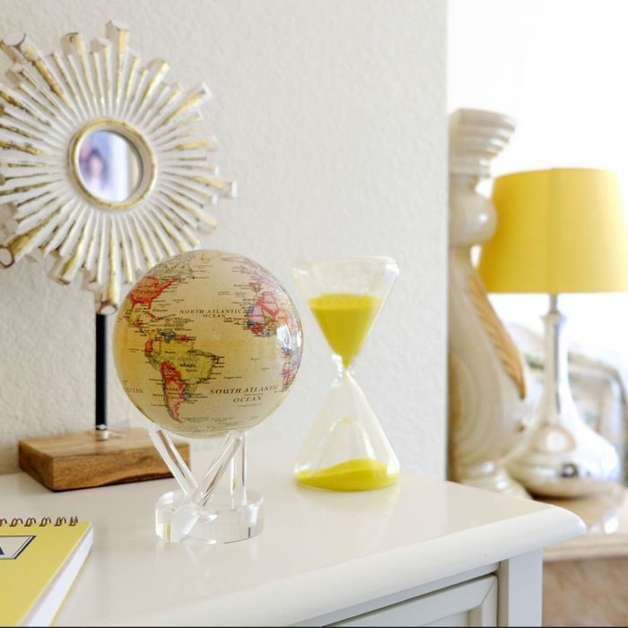 POLITICAL MAP YELLOW MOVA GLOBE