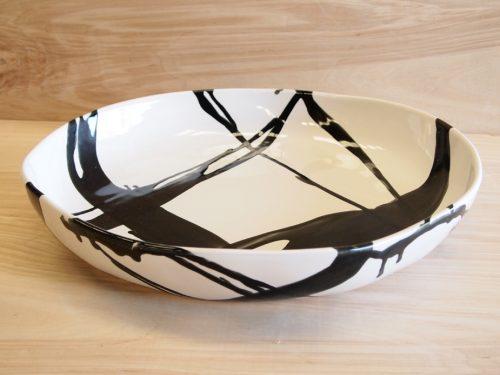 """Alex Marshall Dinnerware-15"""" Low Bowl"""