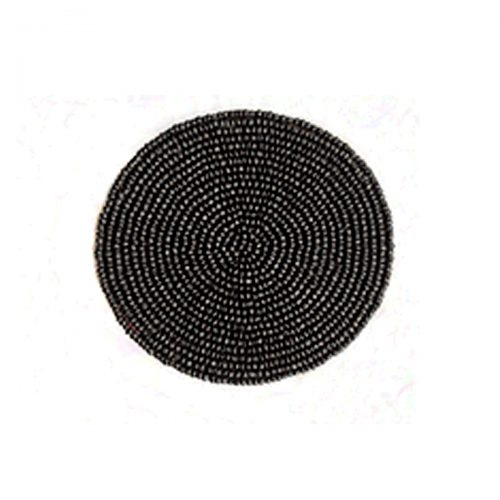 Von Gern Coasters Beaded Black