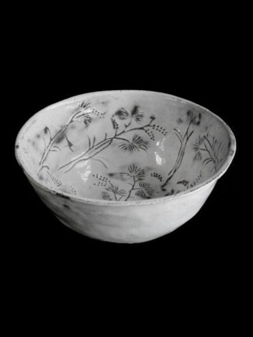 ASTIER DE VILLATTE Robinson Salad Bowl (Flowers Inside)