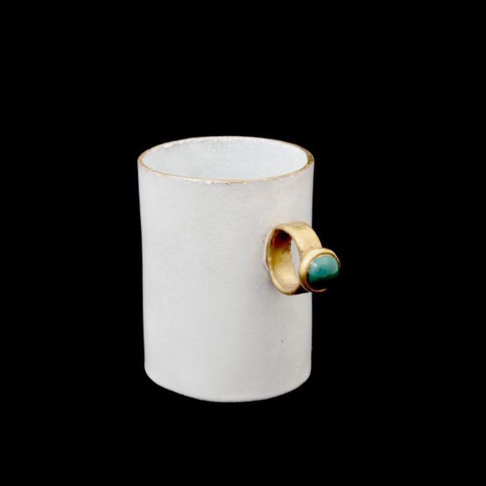 ASTIER DE VILLATTE Serena Green Cup