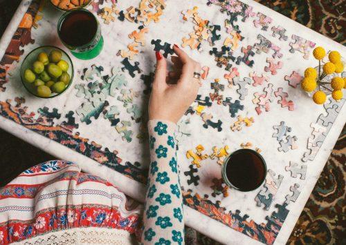 Piecework Meta 1000 Piece Jigsaw Puzzle