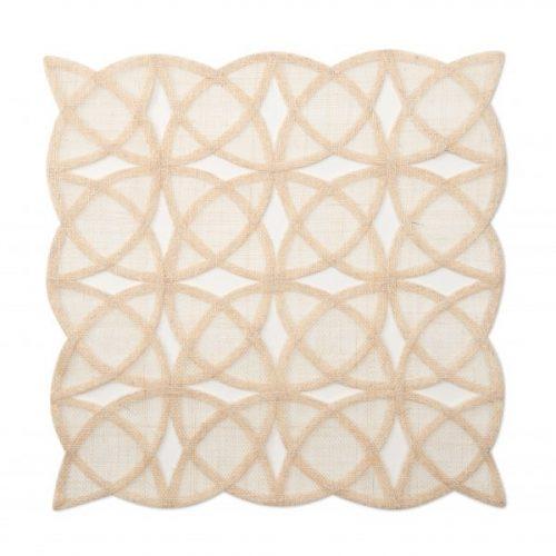 Deborah Rhodes Placemats Sinamay Tile Natural
