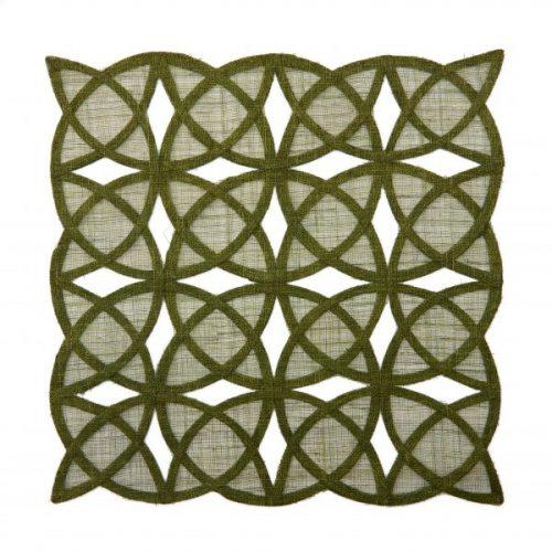 Deborah Rhodes Placemats Sinamay Tile Grass