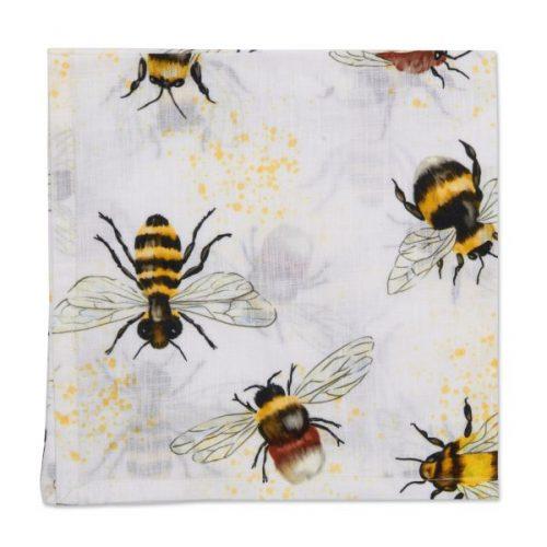 Deborah Rhodes Napkin Honeybees