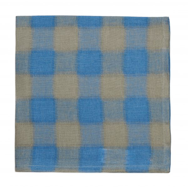 Deborah Rhodes Napkin Ring Pastel Colony Blue