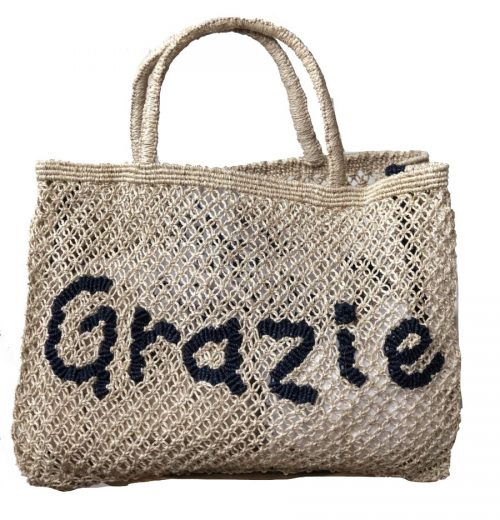The Jacksons Totes Tessa - Grazie - Indigo Natural