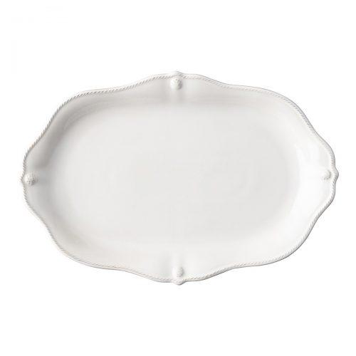 "JULISKA Berry & Thread Whitewash 16"" Platter"