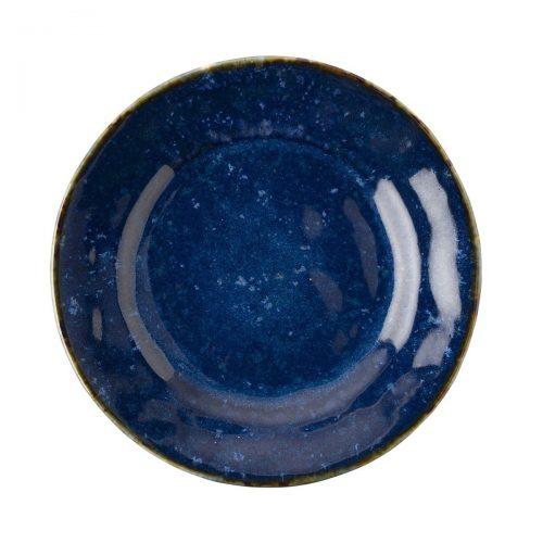 JULISKA Dappled Cobalt Blue Dessert/Salad Plate