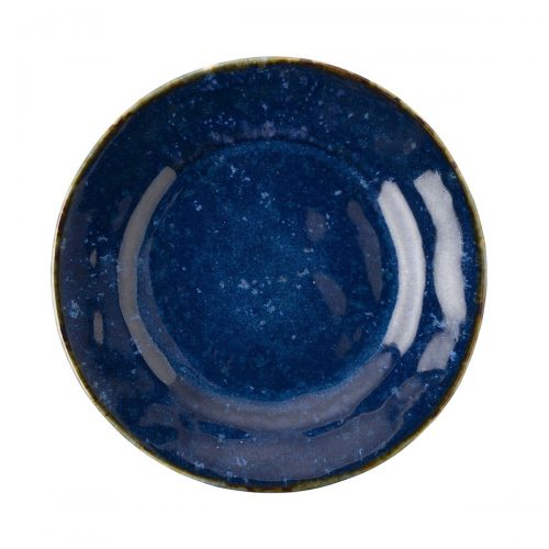 JULISKA Dappled Cobalt Side/Cocktail Plate