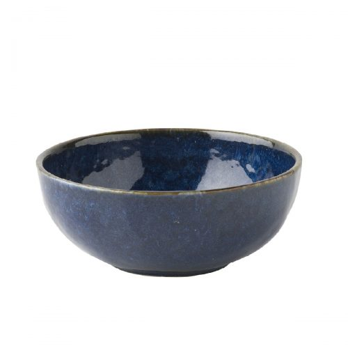 JULISKA Dappled Cobalt Cereal/Ice Cream Bowl
