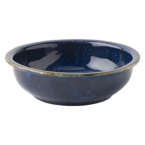 JULISKA Dappled Cobalt Coupe Bowl