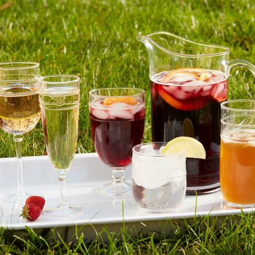 Juliska Al Fresco Isabella Acrylic Wine Glass