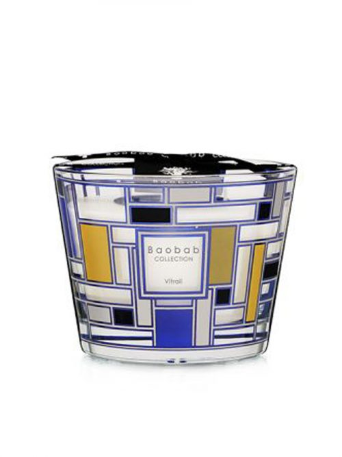 Baobab Candle Collection VITRAIL - SILVER 3.9""