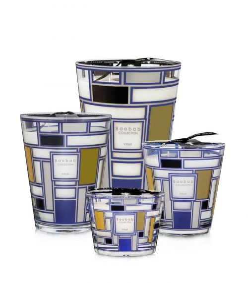 Baobab Candle Collection VITRAIL - SILVER