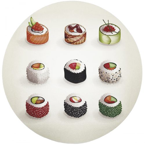 Nicolette Mayer-Sushi Go Round Pebble PLACEMAT
