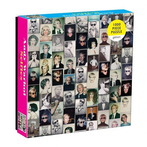 Andy Warhol Selfies 1000 Piece Jigsaw Puzzle