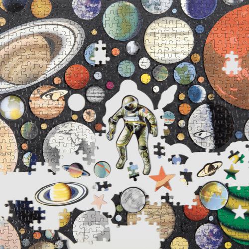 Ben Giles Zero Gravity 1000 Piece Jigsaw Puzzle