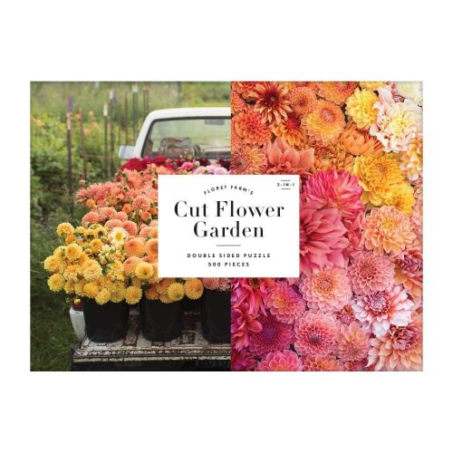 FLORET FARM'S CUT FLOWER GARDEN DOUBLE SIDED 500