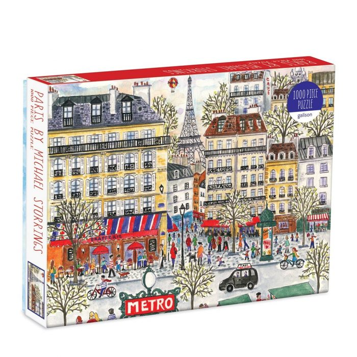 Michael Storrings Paris 1000 Piece Jigsaw Puzzle