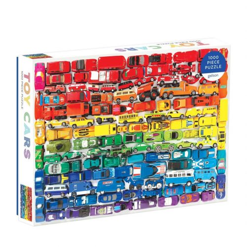 Rainbow Toy Cars 1000 Piece Jigsaw Puzzle