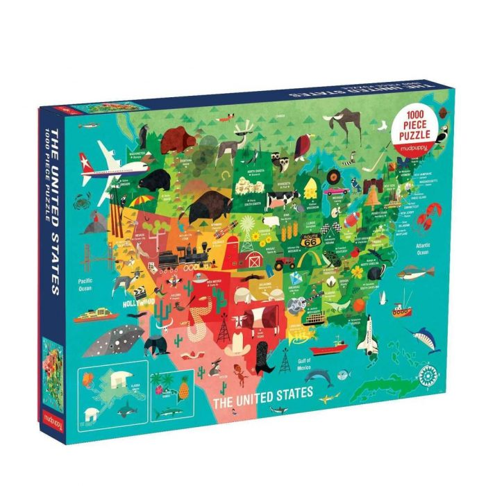 The United States 1000 Piece Family Jigsaw Puzzle