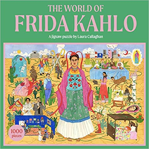 The World of Frida Kahlo 1000 Piece Jigsaw Puzzle