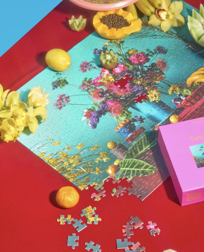 Piecework Tutti-Frutti 500 Piece Jigsaw Puzzle