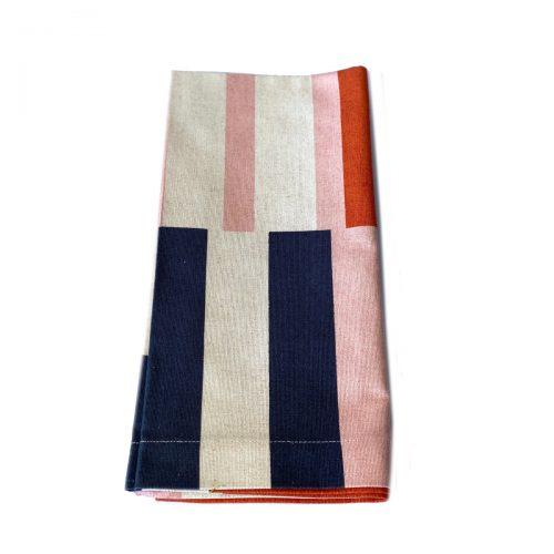 Tina Chen Napkin Contemporary Stripe