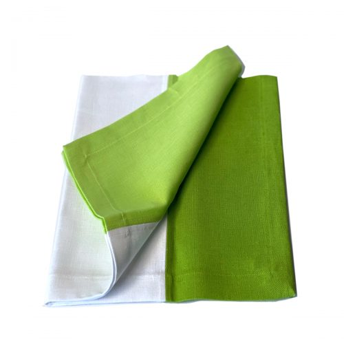 Tina Chen Napkin Green and White Tone
