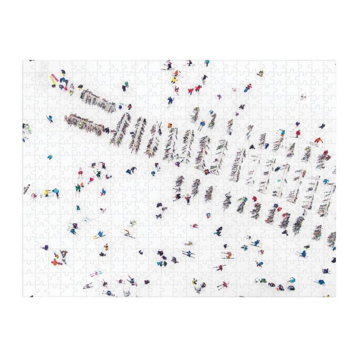 GRAY MALIN THE SNOW DOUBLE SIDED 500 Piece Jigsaw Puzzle