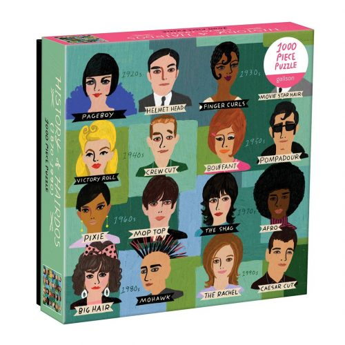 History of Hairdos 1000 Piece Jigsaw Puzzle